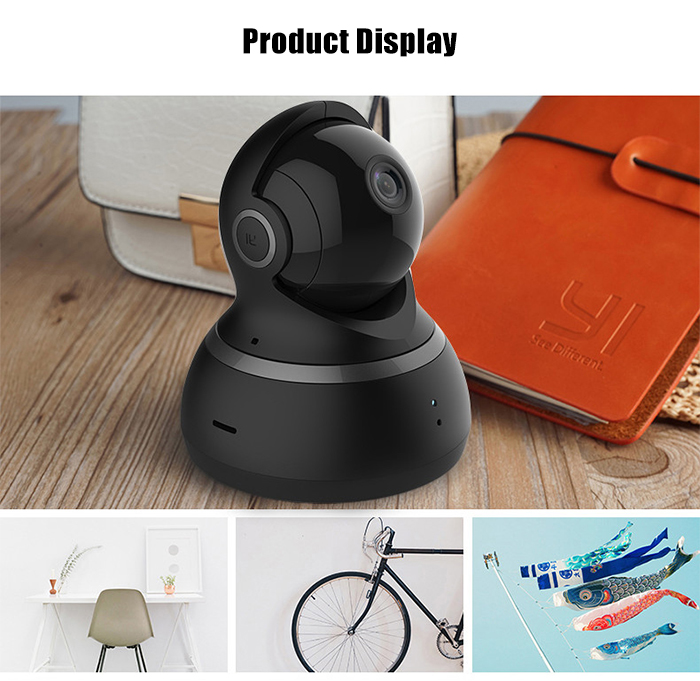YI 1080P Smart WiFi IP Camera 360 Degree Rotation Night Vision Motion Detection Two-way Talk