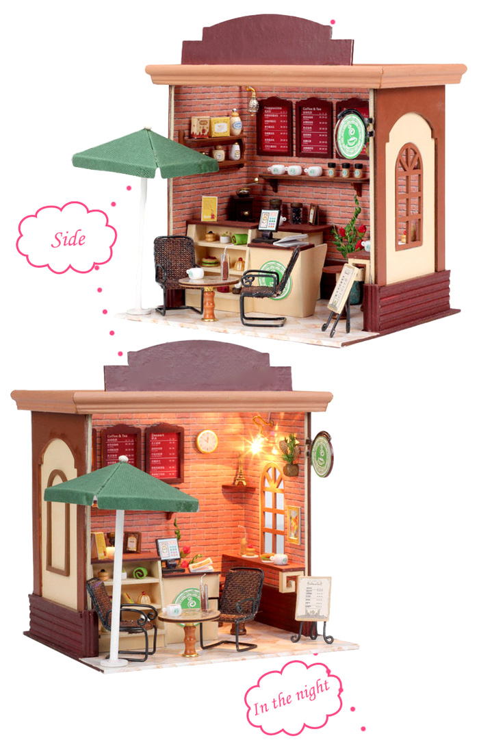 LOZ ABS Street View Architecture Building Block Educational Movie Product Kid Toy