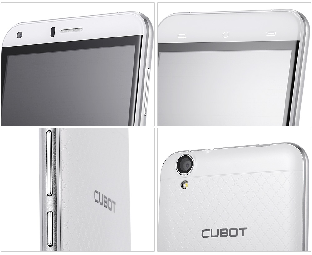 Cubot Manito Android 6.0 5.0 inch 4G Smartphone MTK6737 Quad Core 1.3GHz 3GB RAM 16GB ROM Bluetooth 4.0 A-GPS Accelerometer