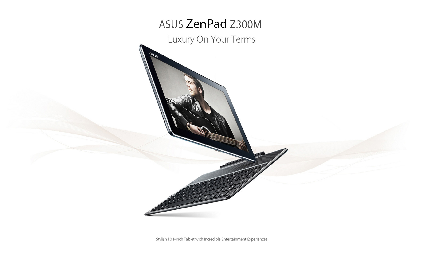 ASUS ZenPad Z300M Tablet PC 10.1 inch IPS OGS Screen Android 6.0 MTK8163 Quad Core 1.3GHz 2GB RAM 32GB ROM Ambient Light Sensor