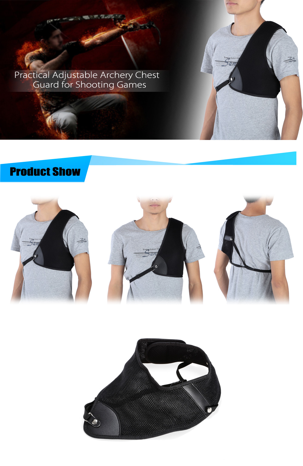 Adjustable Archery Chest Guard Shooting Accessories