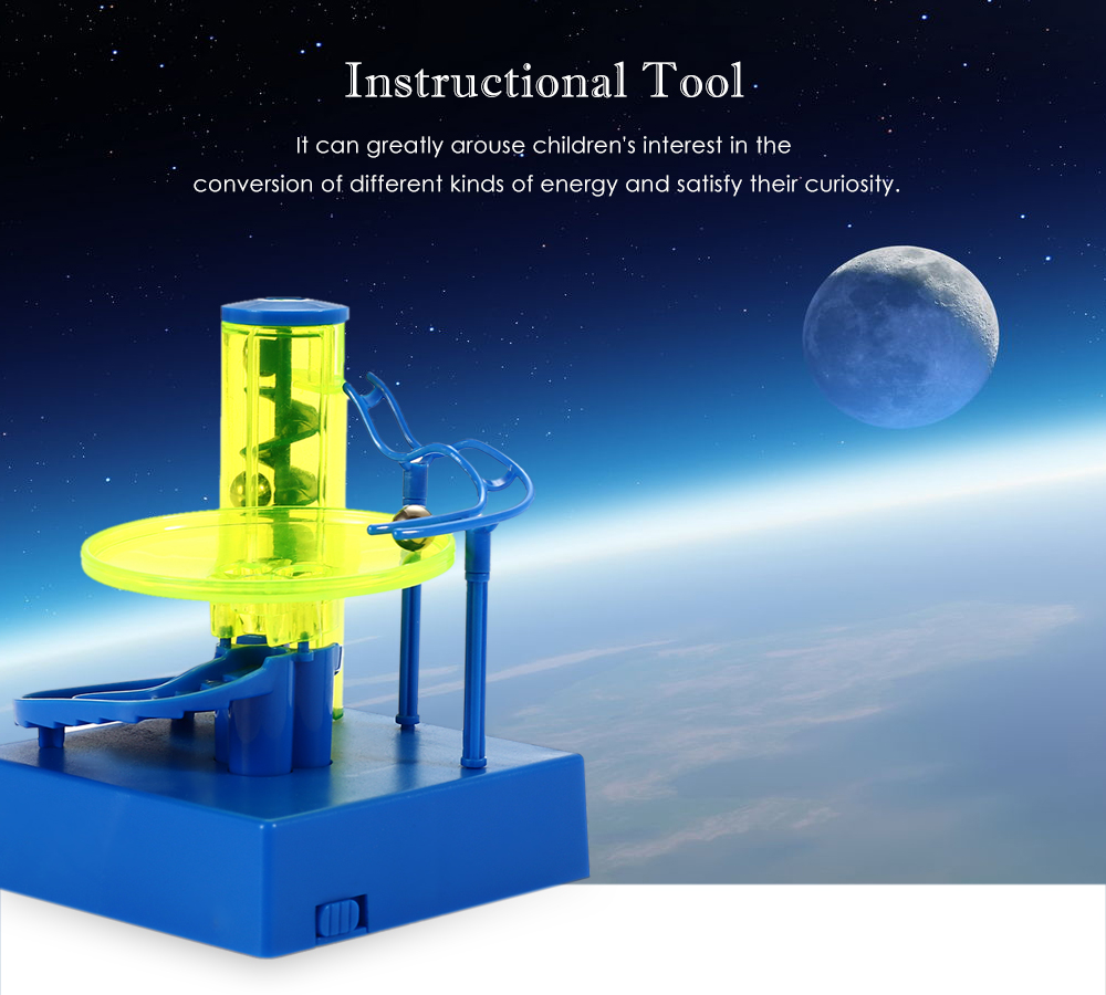 3D Electric-powered Rolling Ball Tabletop Game for Children