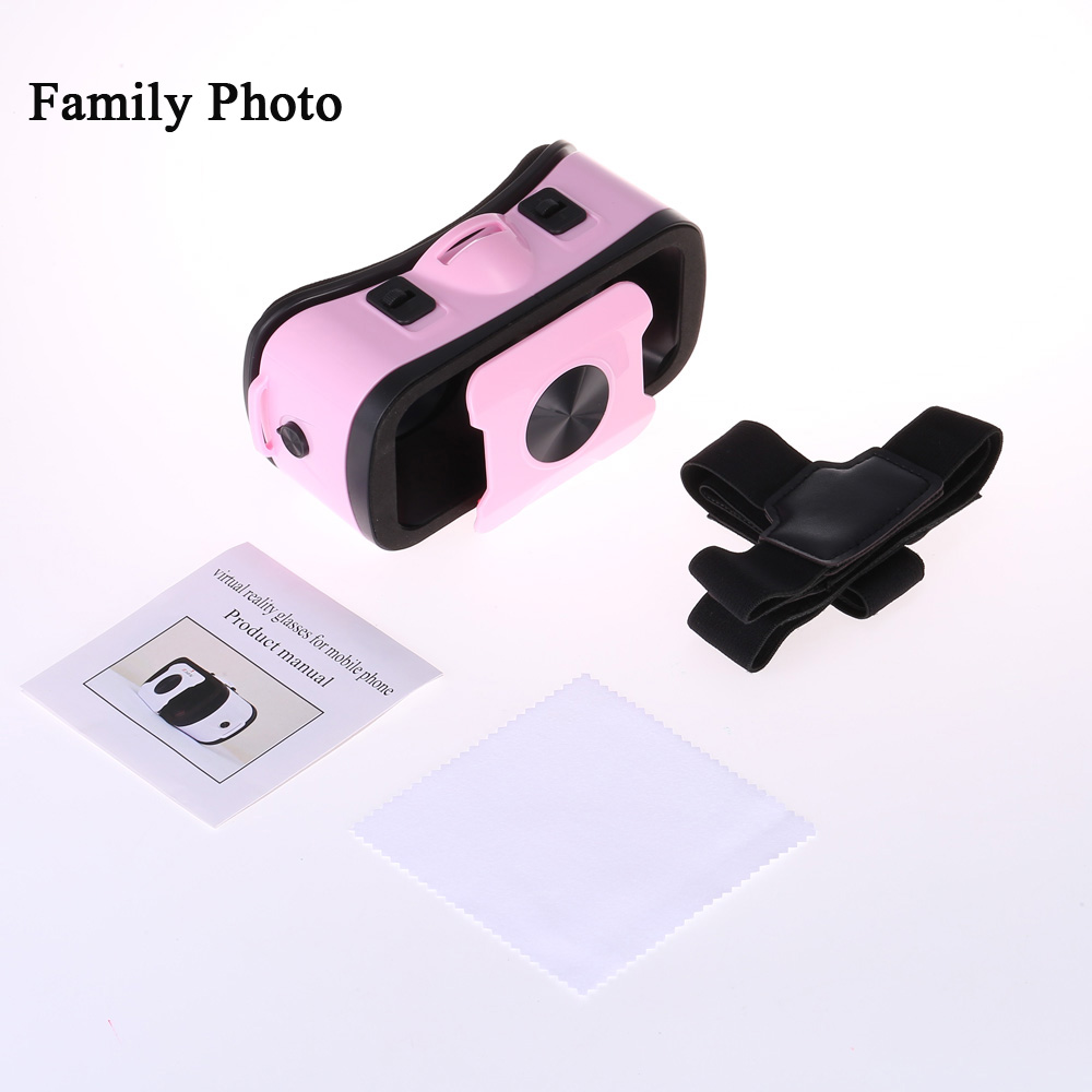 Mini 3D VR Glasses for 4.7 - 6.0 inch Smart Phone 96 Degree FOV