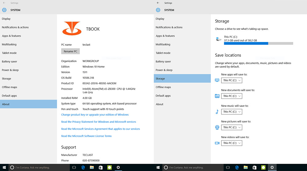 Teclast TBook 12 Pro 2 en 1 Tableta y PC