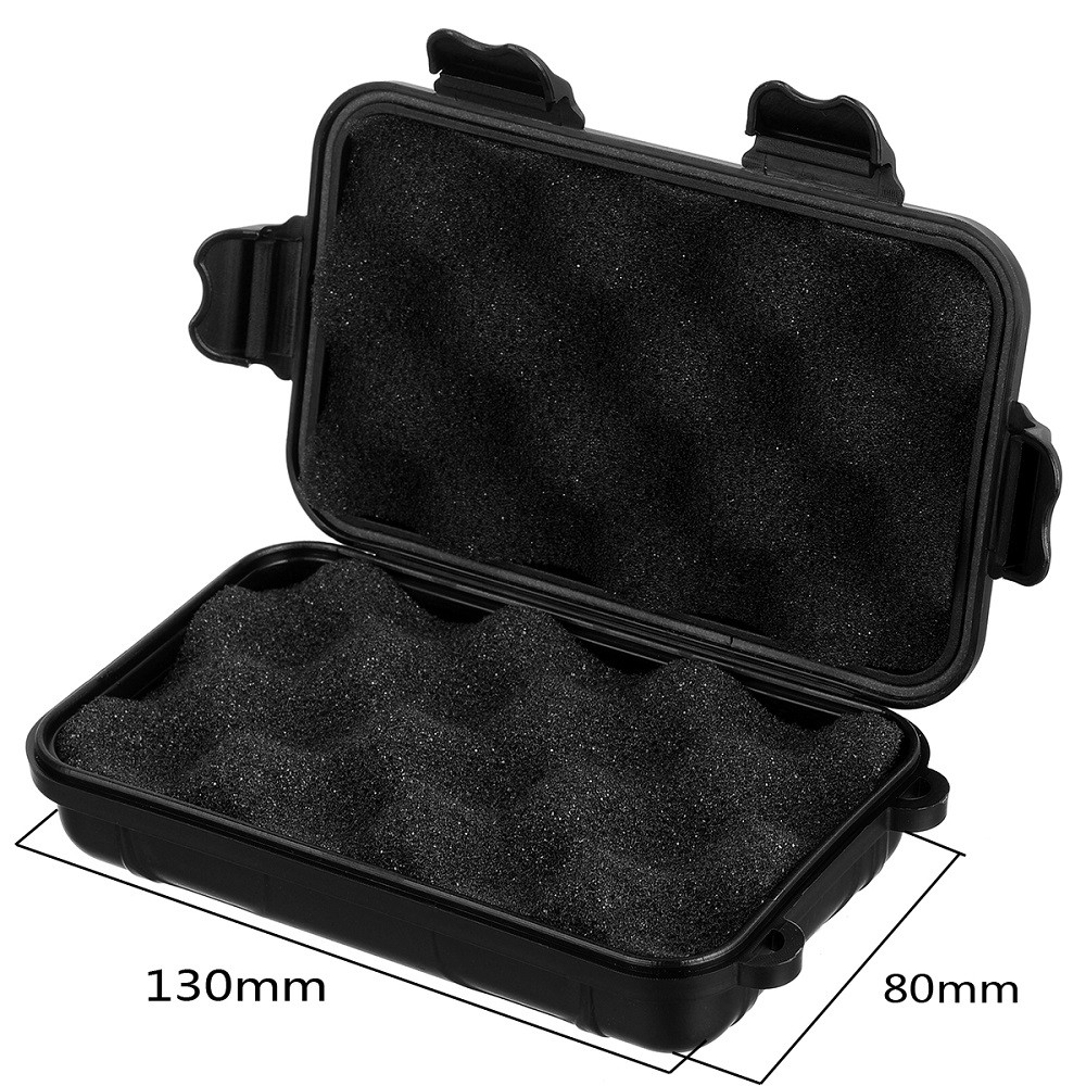 Small Sealed Storage Case Anti-shock Water Resistant for Camping