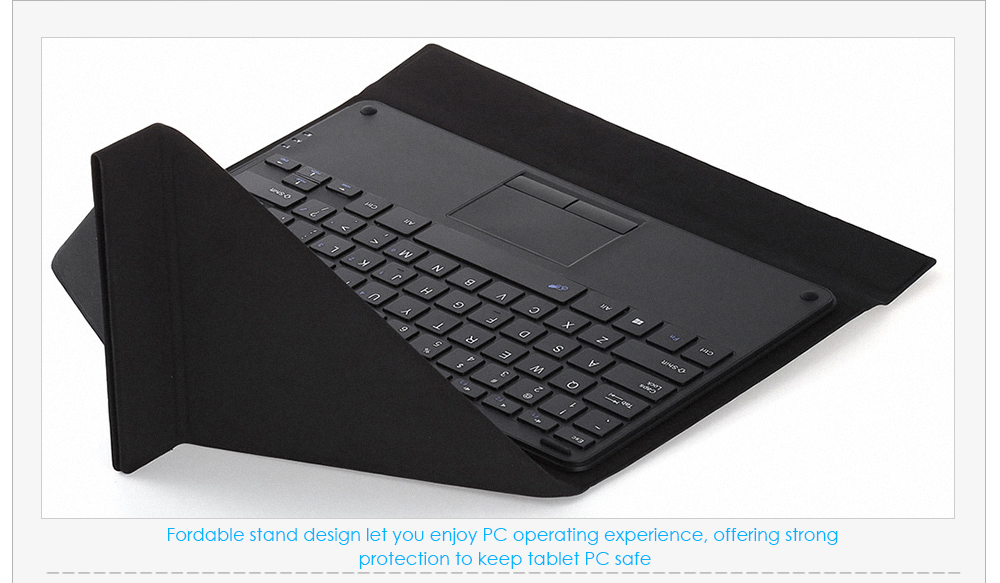 Original Teclast X16 Pro / X16 Power Keyboard with Foldable PU Leather Tablet PC Protective Case Magnetic Suction Stand Function