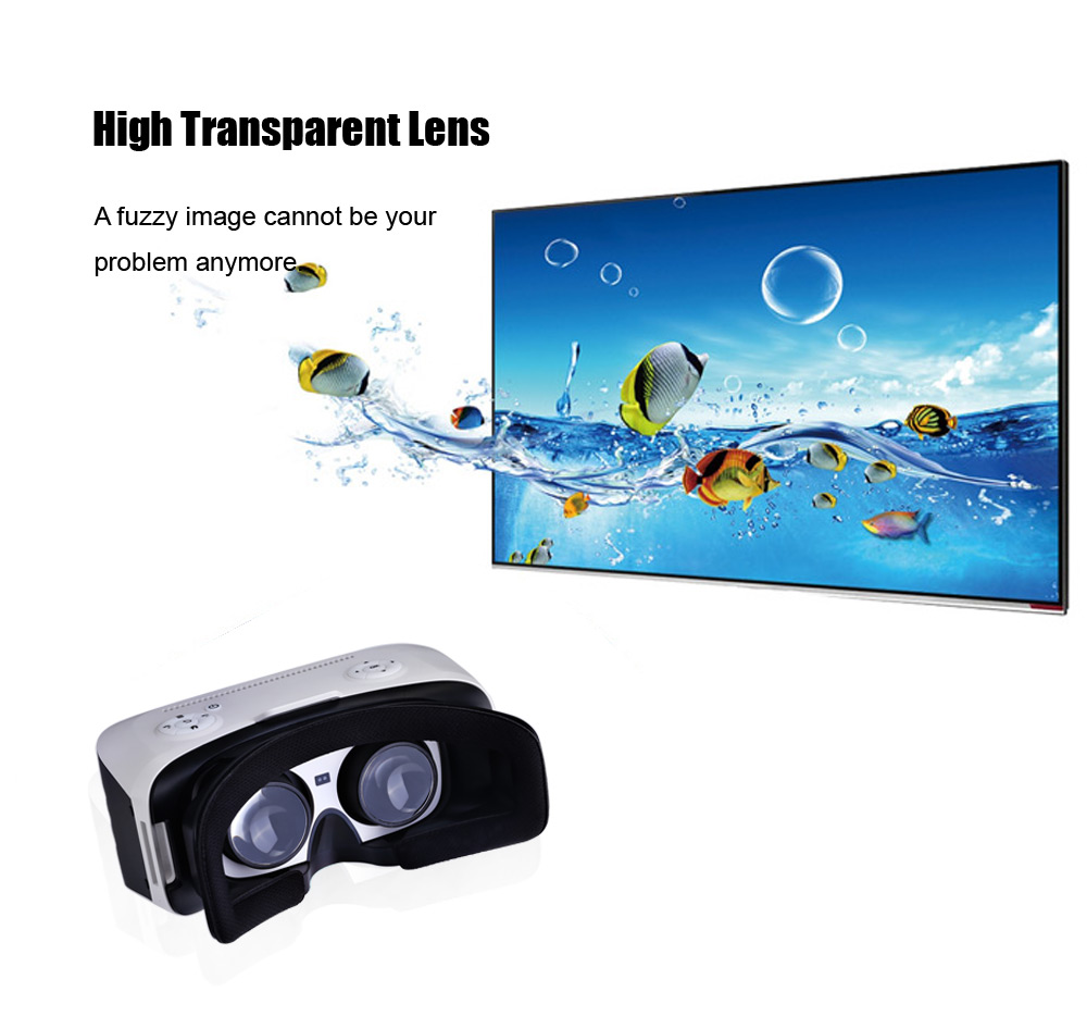 Meshion HY - D6 5.5 inch Screen All-in-one Virtual Reality 3D Headset IPD Adjustment Support WiFi TF Card