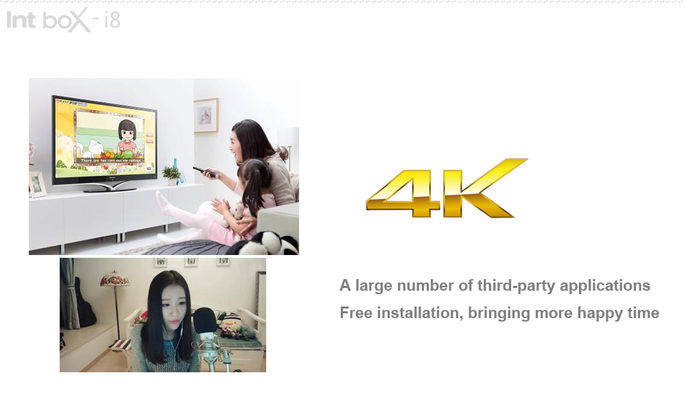 Intbox PRO i8 TV Box Android 6.0 Amlogic S912 Octa-core 4K x 2K HDMI Support 2.4G / 5G WiFi Bluetooth 4.0
