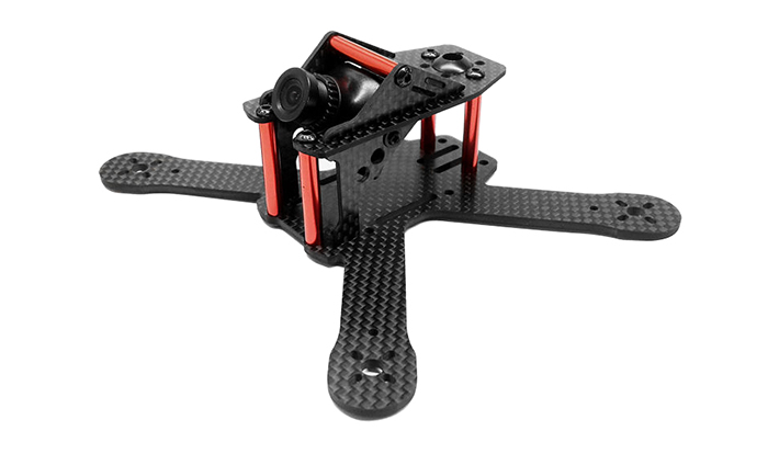 GB130 130mm Carbon Fiber Frame Kit without HD Camera for Racing Drone