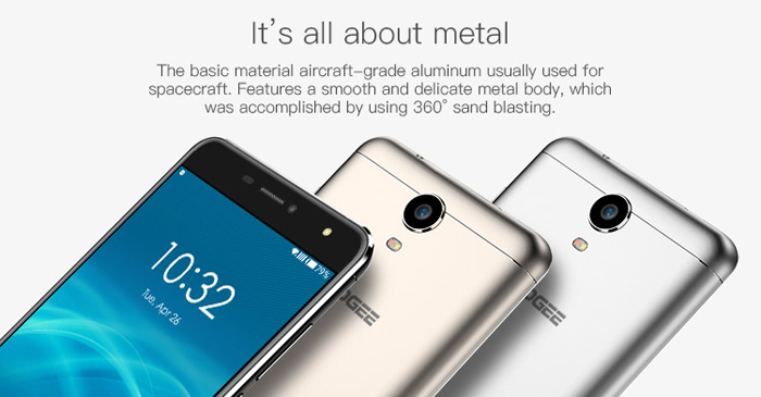 Doogee X7 Pro Android 6.0 6.0 inch 4G Phablet MTK6737 Quad Core 1.2GHz 2GB RAM 16GB ROM 3D VR Proximity Sensor GPS