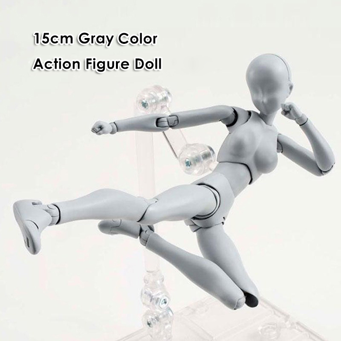 15cm Action Figure Doll Deluxe Version with Different Postures Weapon Set