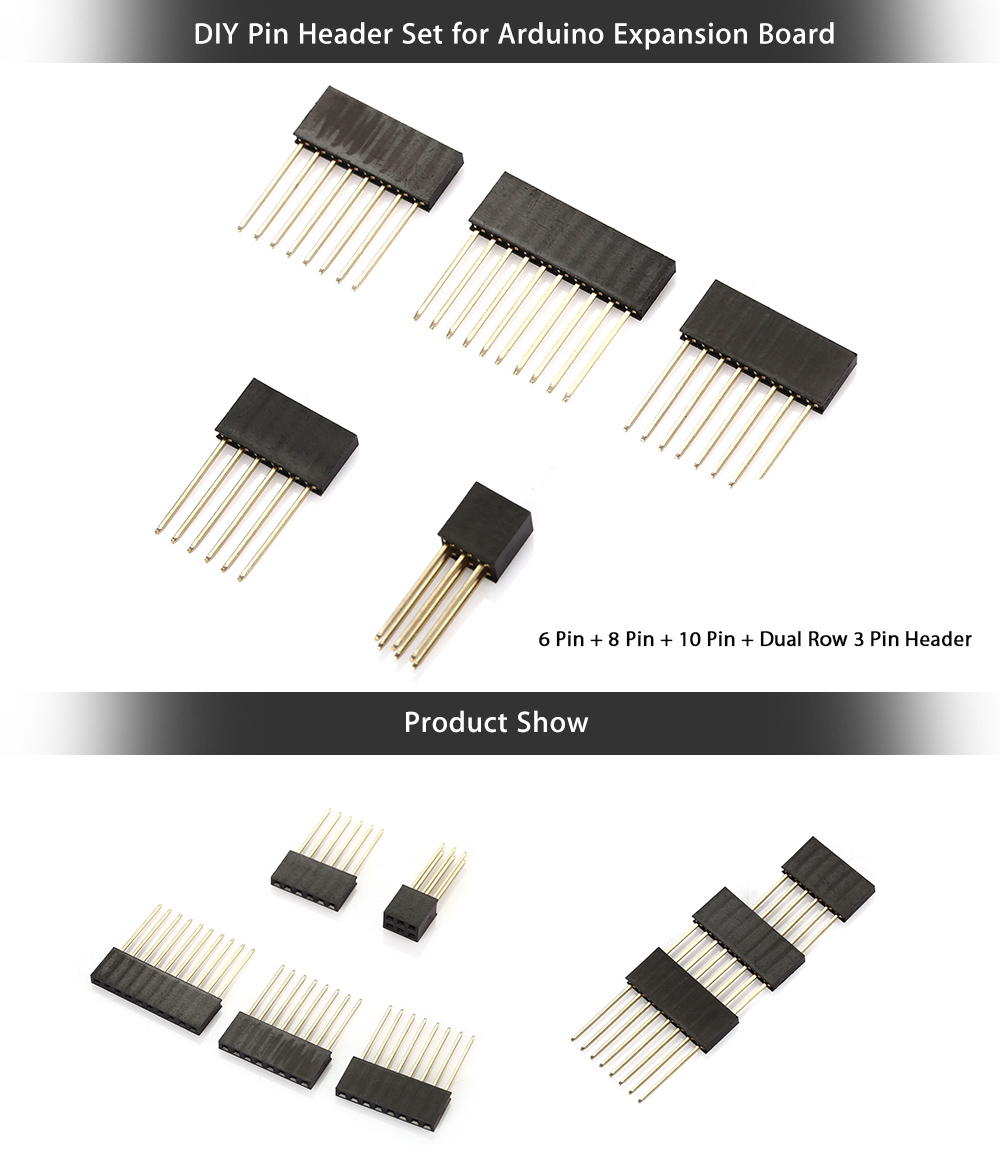 5PCS Pin Header for Arduino Expansion Board