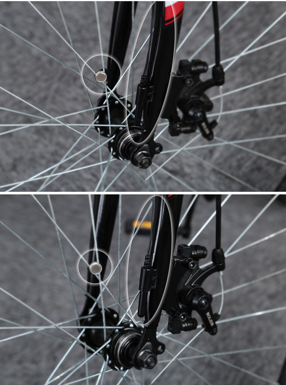CATEYE CC - VL520 Wired Bike Computer 7 Functions Cycling Velometer