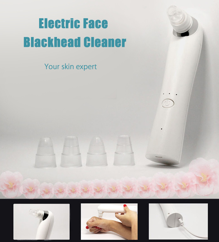 Electric Face Cleaning Machine Acne Blackhead Removal Device