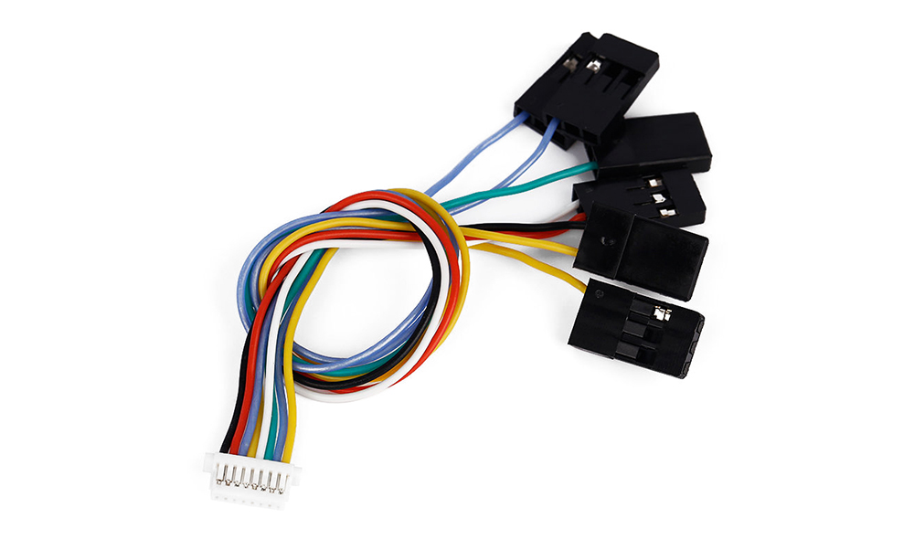 6 in 1 CC3D Flight Controller Connecting Cable for Multirotor Racing