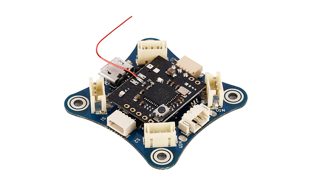 X Style Brushless Naze32 Flight Controller with with STM32F303RCT6 32-bit Processor Built-in Receiver for Multirotor Racing