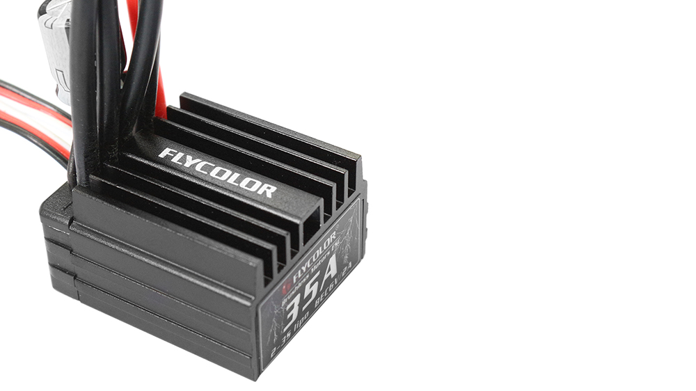 Flycolor 35A Brushless ESC 2 - 3S LiPo Accessory for 1 / 16 1 / 18 RC Car