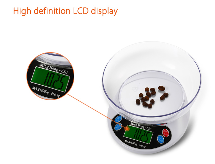MH - 680 Electronic LCD Kitchen Scale for Home