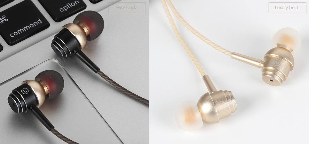 Elephone E1 HiFi Music In-ear Earphones Noise Canceling with Mic Support Hands-free Calls
