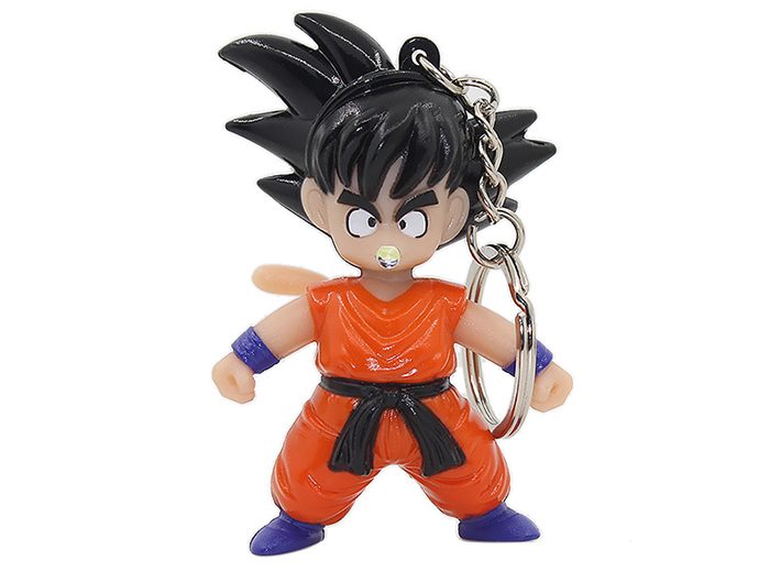 Creative LED Lighting Sound Classic Cartoon Figure Key Chain
