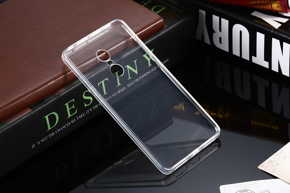 ASLING Transparent TPU Soft Protective Case for Xiaomi Redmi Note 4 Ultra Thin Phone Protector
