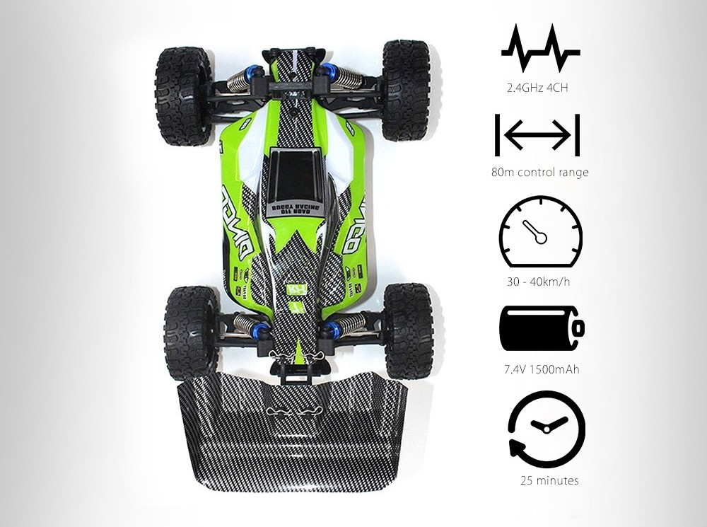 REMO HOBBY 1651 1:16 30 - 40km/h 2.4GHz 4CH 4WD RC Brushed Truck with Water-resistant ESC