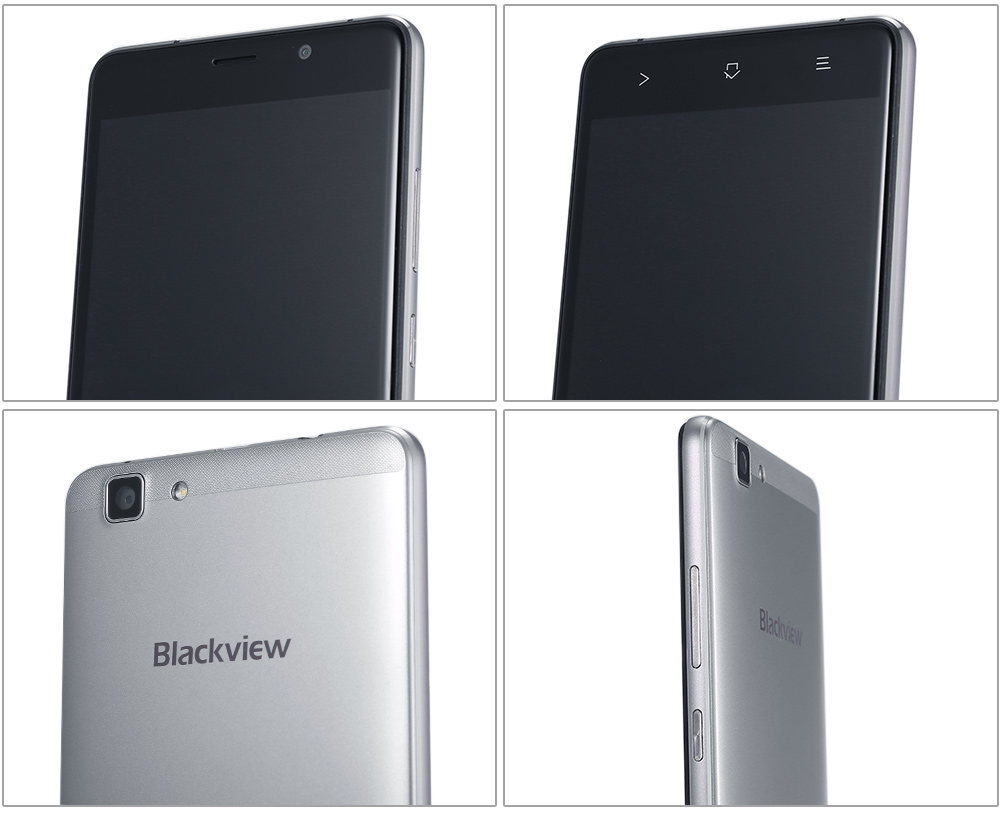 Blackview A8 Max Android 6.0 5.5 inch 4G Phablet MTK6737 1.3GHz Quad Core 2GB RAM 16GB ROM Bluetooth 4.1 GPS Gravity Sensor