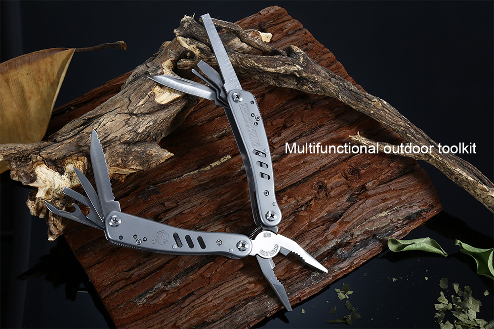 DETECTIVE PEOPLE A18 - 2 Multi-purpose Stainless Steel Pliers Toolkit