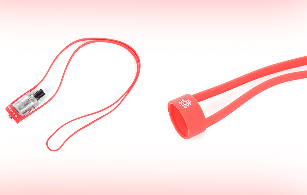 Vapesoon Universal Silicone Lanyard with Light Weight / Six Colors Available / 19 - 22mm Diameter
