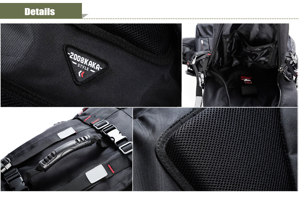Kaka 2010 Water-resistant Oxford Cloth 55L Mountaineering Backpack