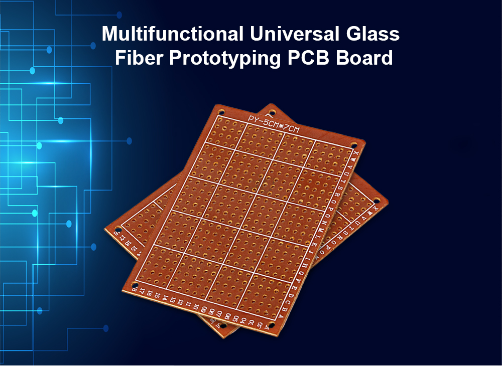 High Performance Glass Fiber Prototyping PCB Board Engraving DIY Project