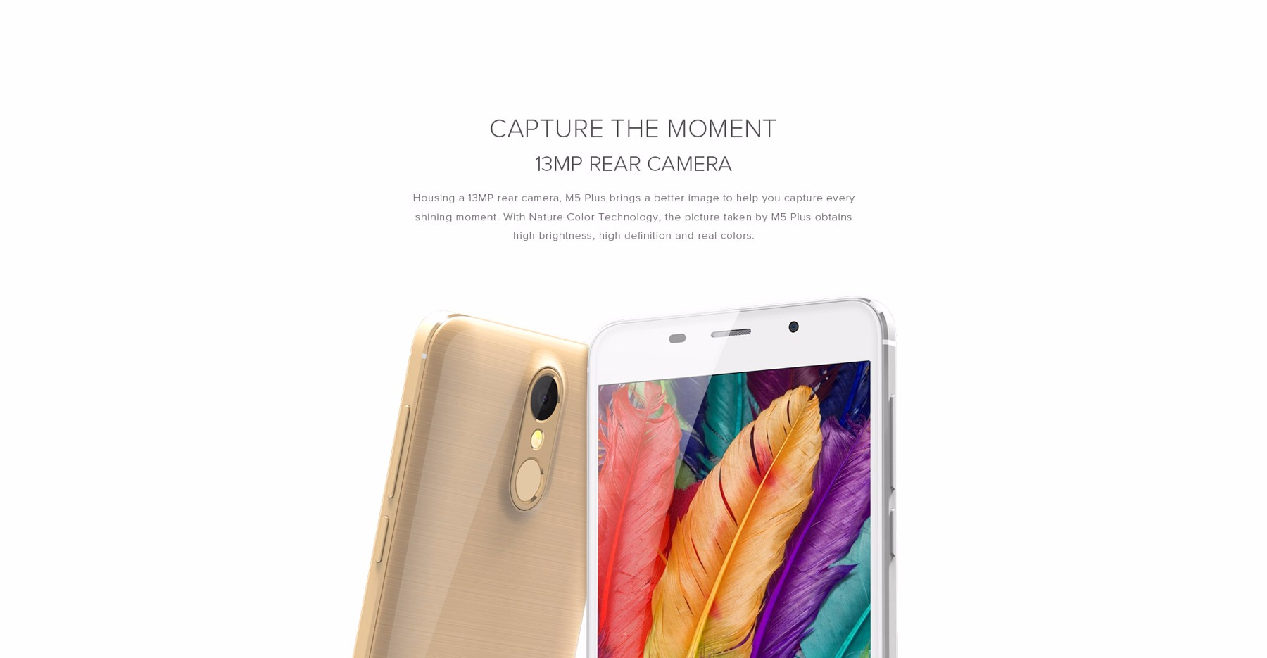 LEAGOO M5 Plus 5.5 inch 2.5D Screen 4G Phablet Android 6.0 MTK6737 Quad Core 1.3GHz 2GB RAM 16GB ROM 13MP + 5MP Cameras Fingerprint