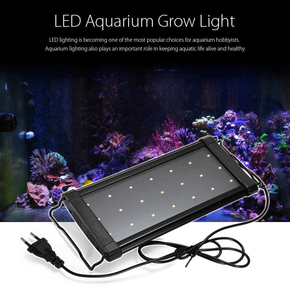 30cm 21 x smd 2835 aquarium led grow light for aquatic. Black Bedroom Furniture Sets. Home Design Ideas
