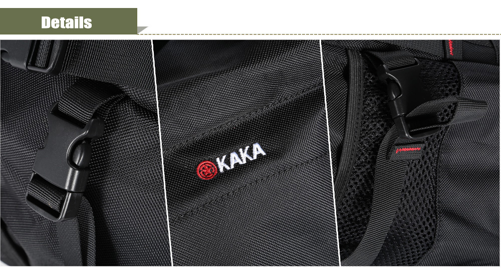 Kaka 2100 Water-resistant Oxford 40L Mountaineering Backpack with Reflective Strap