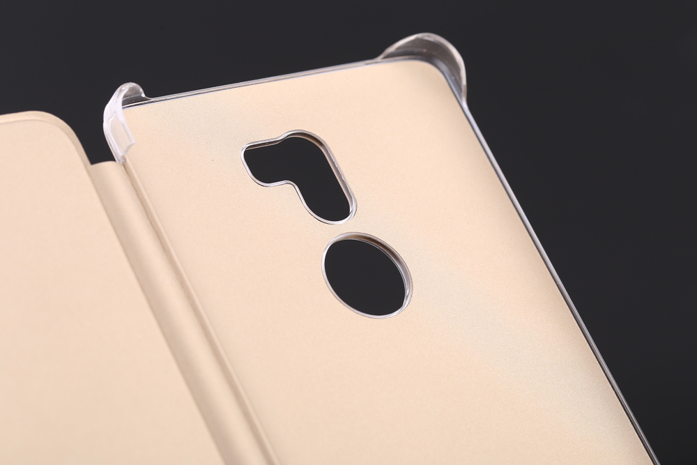 Original Xiaomi PU Leather Full Body Protective Case Smart Auto Wake-up for 5S Plus