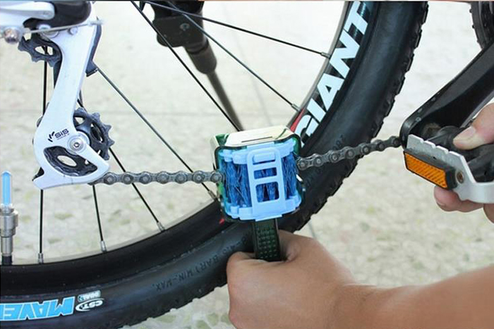 CYLION 6952 Multifunctional Bicycle Chain Cleaner Bike Clean Tool Cycling Accessories