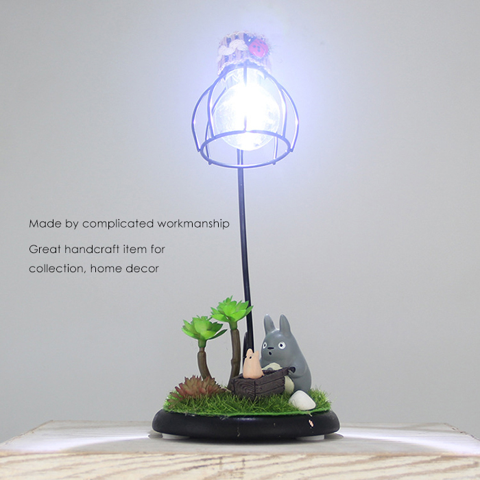 Creative Micro Landscape Toy with Night Light Home Decoration Accessory