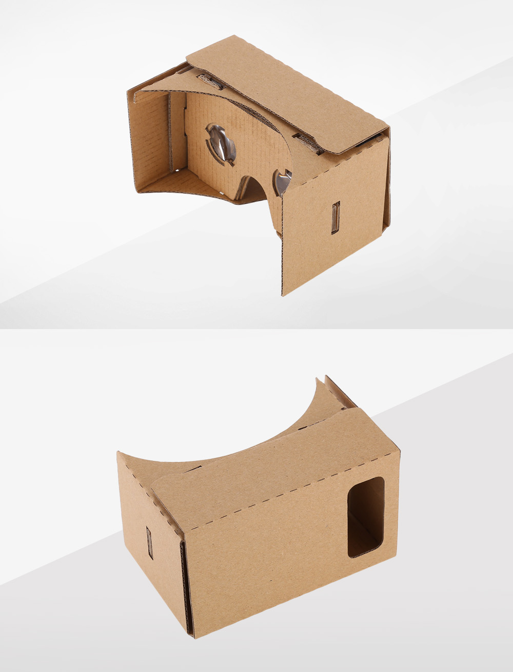 3D VR Cardboard Glasses Virtual Reality Box Private Theater for 3.5 - 5.0 inch Smartphone