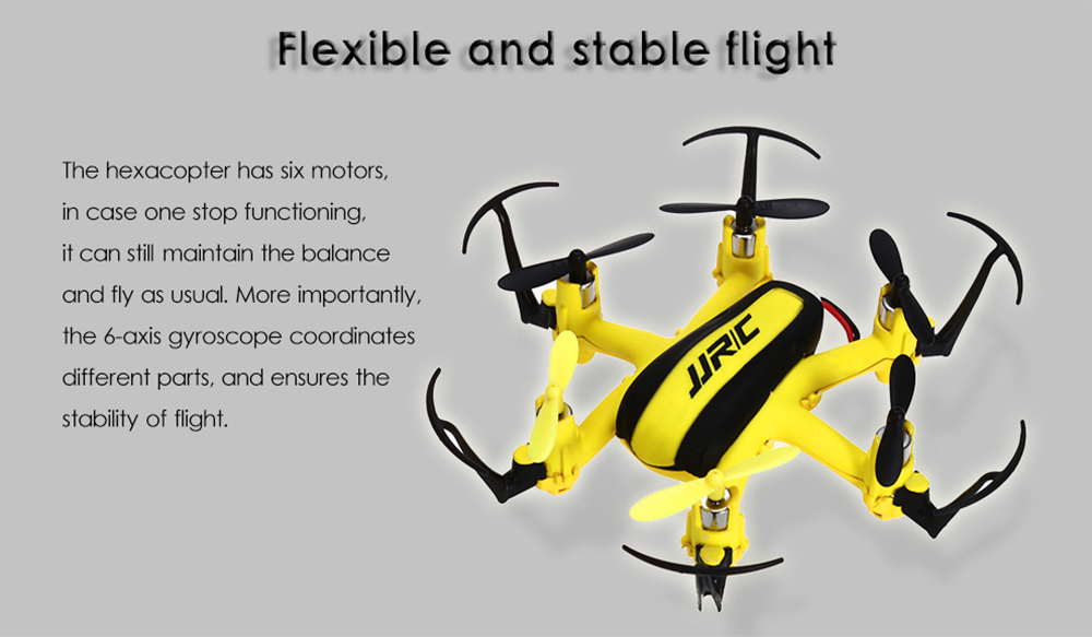 JJRC H20H 2.4GHz 4CH 6 Axis Gyro Mini Hexacopter with Headless Mode Altitude Hold