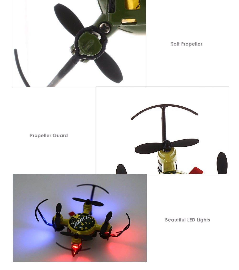 JJRC H30 Mini RC Quadcopter RTF 2.4GHz 4CH 6-axis Gyro Headless Mode One Key Return