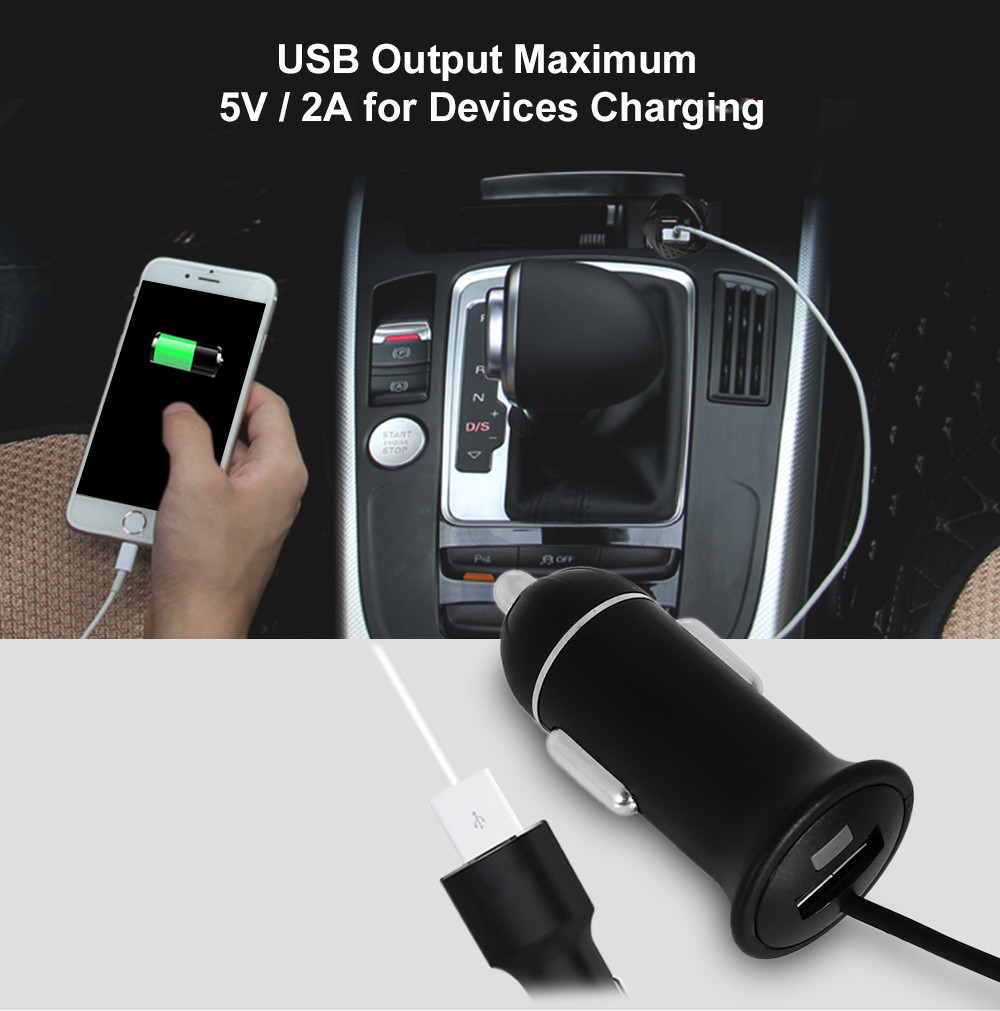 FM29B Hands-free Bluetooth FM Wireless Transmitter Car Charger