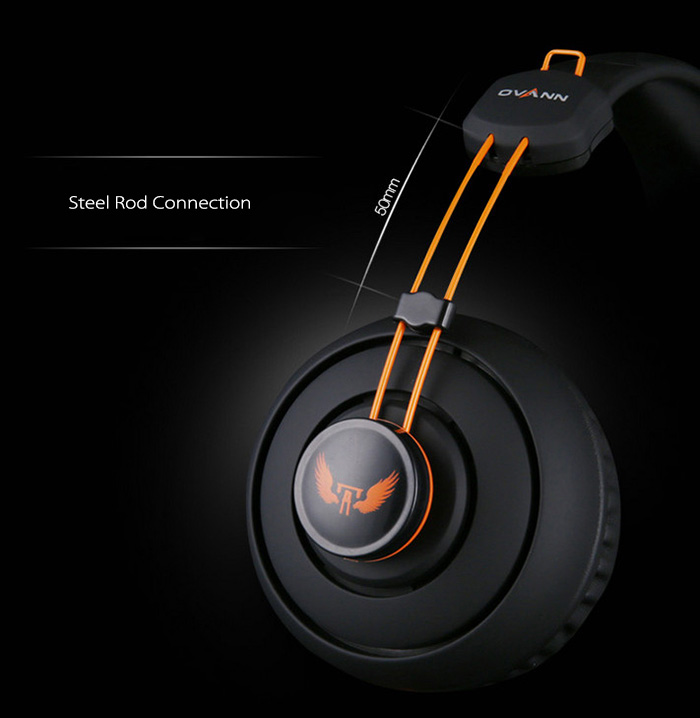 OVANN X7 Professional Gaming Headsets On-cord Control Comfortable Wearing