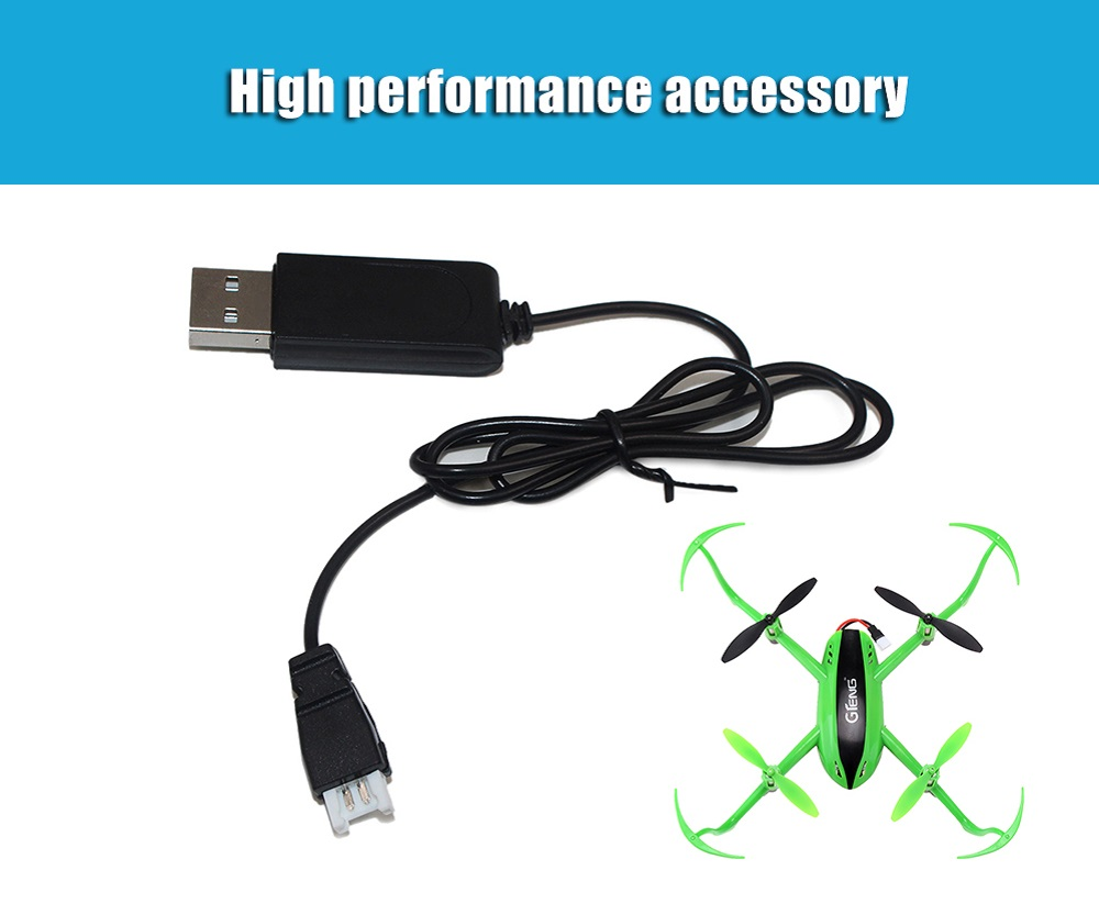 Original GTeng USB Charging Cable Quadcopter Accessory for T903 T906W RC Drone