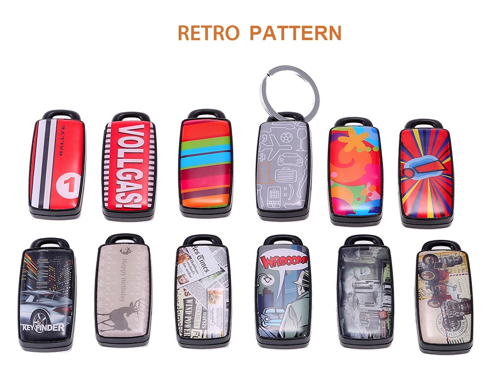 Retro Whistle Anti-lost Key Finder Ring Voice Control