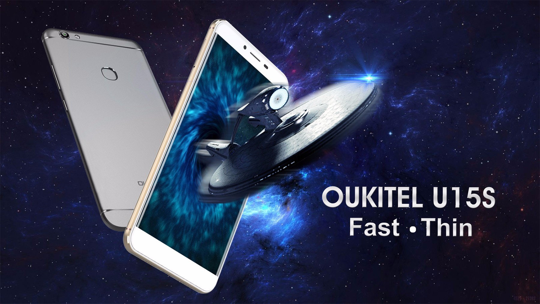 Oukitel U15S Android 6.0 5.5 inch 4G Phablet MTK6750T Octa Core 1.5GHz 4GB RAM 32GB ROM Fingerprint Scanner