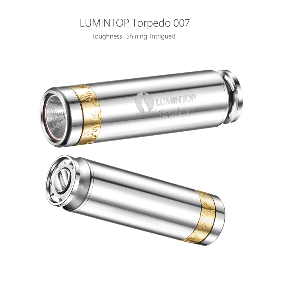 LUMINTOP Torpedo 007 Cree XPL V5 520Lm LED Flashlight Keychain Light