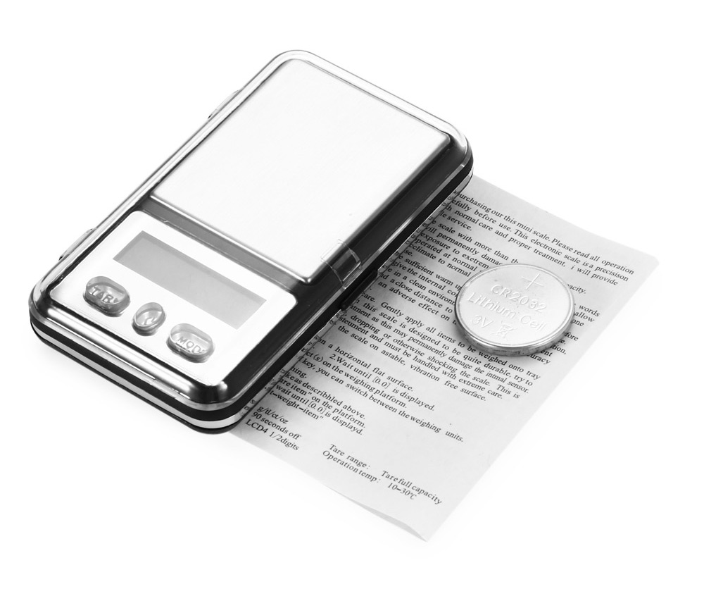 MINI - 333 100g Mini 1.0 inch LCD Screen Digital Scale