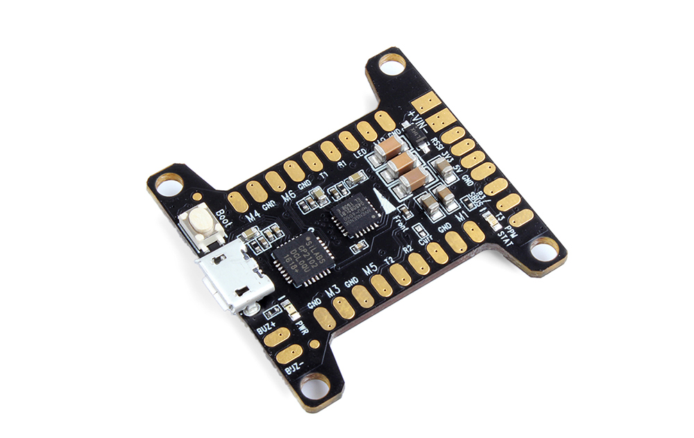 Holybro Kakute V1.0 F3 Flight Control Board with STM32F303CCT6 32-bit Processor MPU6050 for Racing Drones