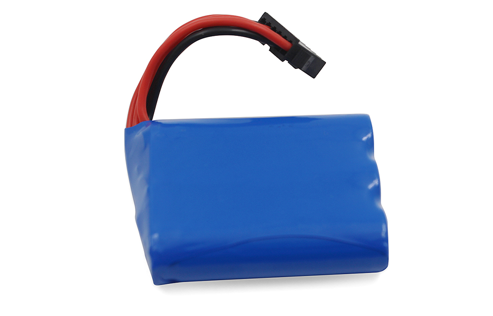 9.6V 700mAh Li-ion Battery with XH - 6P Plug for 9116 1/12 RC Truck