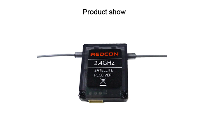 REDCON R601X 2.4G 20CH Receiver with Case for Multirotor